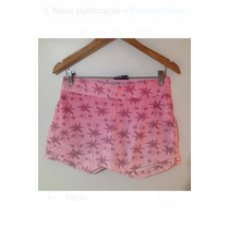 Short Curto Jeans Hot Pants Social Cintura Alta Renda