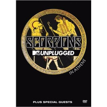 Dvd Scorpions - Unplugged Mtv In Athens (lacrado)