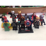 Set Marvel Civil War Avengers Black Panter Compatible Lego