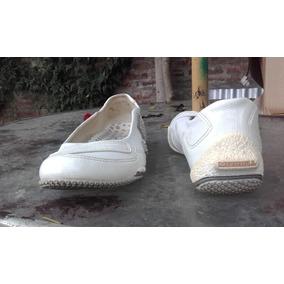 Zapatillas De Cuero Hiper Femeninas Impecables T39 ( 25cm )