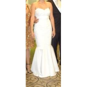 Vestido De Noiva Tomara Que Caia Sereia Off White