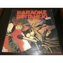 Lp Karaokê Sertanejo Vol.2, Disco Vinil, Ano 1989