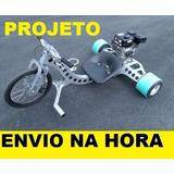 Projeto Triciclo Drift Trike Motorizado + Frete Grátis