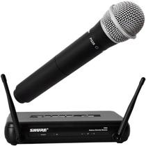 Microfone Sem Fio Shure Svx24br C/ 2 Anos De Garantia