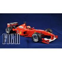 F1 Michael Schumacher Ferrari Mrlboro 2000 Con Exhibidor