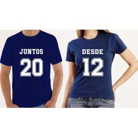 5caaa5cd0 Camiseta Casal Namorado Tamanho Sm - Camisetas Manga Curta para ...