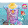 Fantasia Ariel A Pequena Sereia