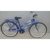 Bicicleta Aro 26 Mod. Poti Cor Azul C/ Cesta