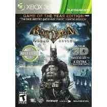 Jogo Xbox 360 Batman Arkham Asylum Original 3d !