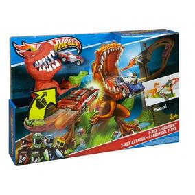 Autopista Hot Wheels Duelo De T-rex T Rex - Nueva Y Sellada