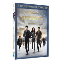 Crepusculo Saga Amanecer Parte 2 Dos Pelicula Blu-ray + Dvd