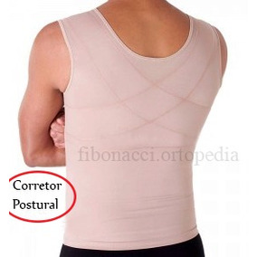 Cinta Modeladora Masculina Colete Fitness Top Fit Togs
