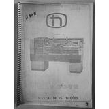 Manual De Instruções Torno Mascote Nardini 350