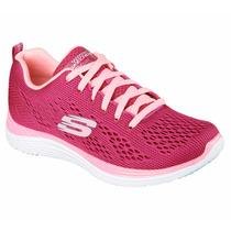 Zapatos Skechers Para Damas Relaxed Fit Valeris 12221 - Ras