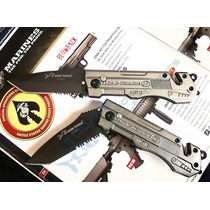 Navaja Automatica Diseño Tactico Acero Inox Mod 0891