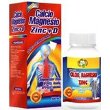 Calcio Magnesio Zinc Capsulas Extracto 100&natural