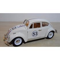 Fusca Miniatura Herbie Escala 1:18