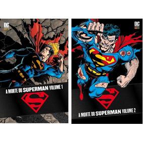 Hq A Morte Do Superman Volume 1 E 2 Capa Dura Dc Panini