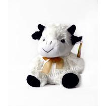 Pelúcia Vaquinha Bichinho Brinquedo Criança Presente Pet