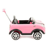 Mini Cooper Push Car Rosa Prinsel 1683