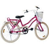 Bicicleta Playera Siambretta Rodado 20 C/guardabarros Niñas