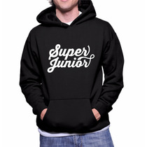 Moletom Masculino Banda Super Junior Casaco Blusa Frio Kpop