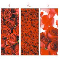 Adesivo Para Porta Ou Parede Rosas Vermelhas 1 Unidade