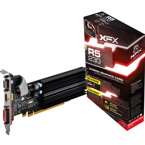 Placa Video Amd Ati Radeon Xfx R5 230 2gb Ddr3 Hdmi Envio