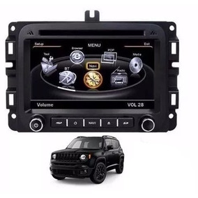 Central Multimidia Jeep Renegade Dvd Usb Tv Gps Bt Orbe