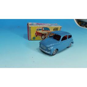 Antiguo Juguete Fiat 600 Nuevo En Su Caja Original Año 1970