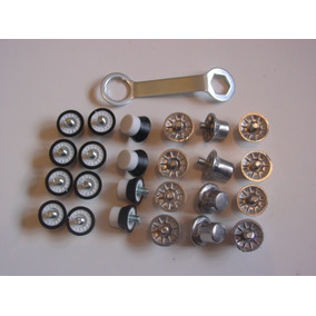 Kit Chave Travas Borracha E Alumínio Chuteira Asics 1magnus