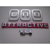 Emblema Novo Uno + Attractive + 1.4 2011/... - Bre