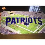 New England Patriots Nfl Placa Auto Patriotas
