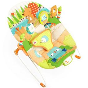 Cadeira Neném Cadeirinha Bebê Descanso Musica Vibra Promoção