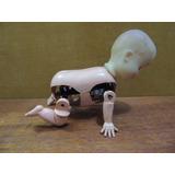 Antiga Boneca Da Estrela Bebê Engatinha Gatinha 1953