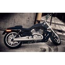 Ponteira Harley V-rod Muscle Sport Cromo Escape Cobra Custom