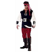 Disfraz De Pirata Capitán Adultos Disfraces Hombres Fiesta