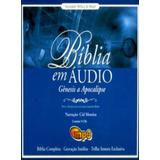 Bíblia Sagrada Em Áudio Narrada Por Cidi Moreira Dvd Mp3
