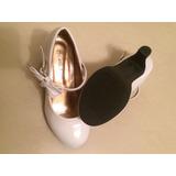 Zapatos Para Niña Con Tacón Talla 13 = 31 Usados