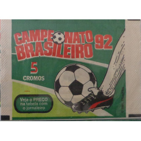 Envelope Lacrado Campeonato Brasileiro 1992 - Panini
