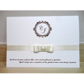 Convites De Casamento Simples Luxo
