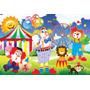 Painel Decorativo Festa Infantil Circo Palhaço (circo02)