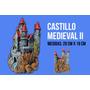 Castillo Medieval De Resina Grande Para Peceras