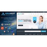 Arka Host V5.1.2 Whmcs Hosting, Shop & Corporate Wordpress