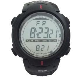 Relógio Atlantis Sport Digital 7330g Resistente À Água