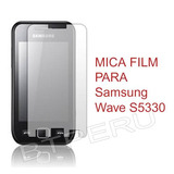 Mica Film Protector Lamina Para Samsung Wave S5330 533 Pro 2