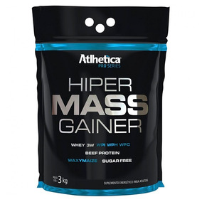 Hiper Mass Gainer - 3kg - Atlhetica Nutrition - Chocolate