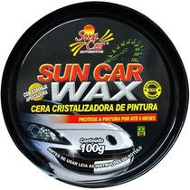 Cera Cristalizadora Pintura Proteção Automotiva Wax Sun Car