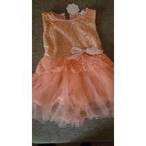 Vestido Bebê Terracota Renda Babado Tutu Tule Infantil