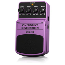Pedal Overdrive Distortion Behringer Od300 C/nf Loja Oficial